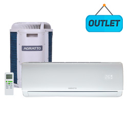 Ar Condicionado Split Inverter Eco Top Agratto 12000 Btus Frio 220V Monofasico EICST12FR402 - OUTLET5