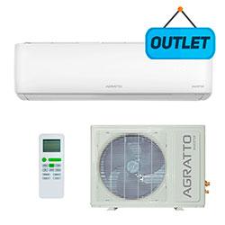 Ar Condicionado Split Hw Inverter Eco Agratto 18000 Btus Frio 220V Monofasico EICS18FR402 - OUTLET