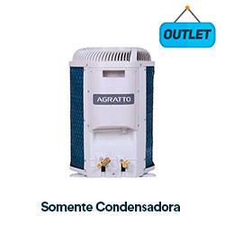 Condensadora Split On/off Fit Top Agratto 12000 Btus Frio 220V Monofasico CCST12FER4-02 - OUTLET