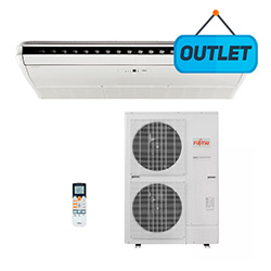 Ar Condicionado Split Teto Inverter Fujitsu 42000 Btus Quente Frio 380v 3f Abbg45lrta - OUTLET