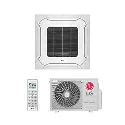 Ar Condicionado Split Cassete Inverter Lg 18000 Btus Quente/frio 220V Monofasico ATNW18GPLP0.ANWZBRZ