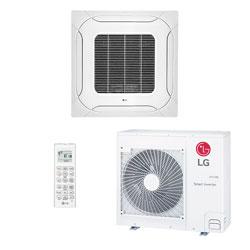 Ar Condicionado Split Cassete Inverter Lg 31000 Btus Quente/frio 220V Monofasico ATNW36GMLP0.ANWZBRZ
