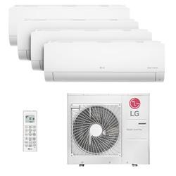 Ar Condicionado Multi Quadri Split Hw Inverter Lg 3x9000+1x18000 Btus Q/f 220v 1f A4uw30gfa2.awgzbrz