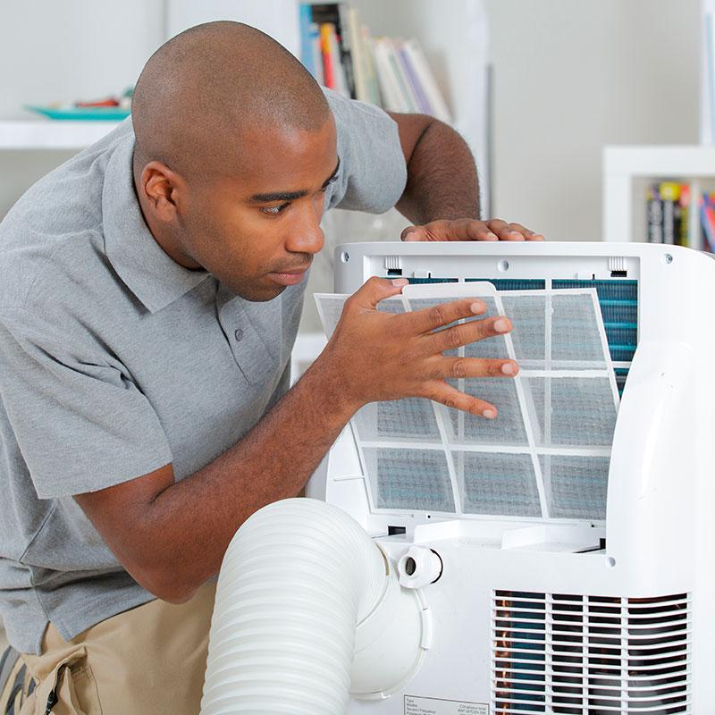 Limpeza De Ar Condicionado Portátil 10500 a 13000 Btus