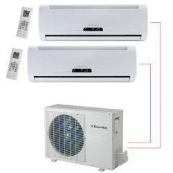 Ar Condicionado Bi Split 2x9000 BTU/s Frio 220V Electrolux NI09F/NE18F