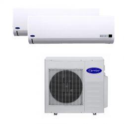 Ar Condicionado Bi Split 2x9000 BTU/s Quente/Frio 220V Carrier 42LMQB009515LC