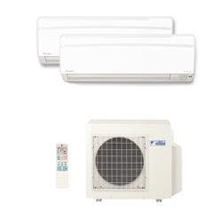 Ar Condicionado Multi Split Inverter Daikin Advance 1X 9000(HW) + 1X 12000(HW) Btu/s Quente/Frio 220V 1F