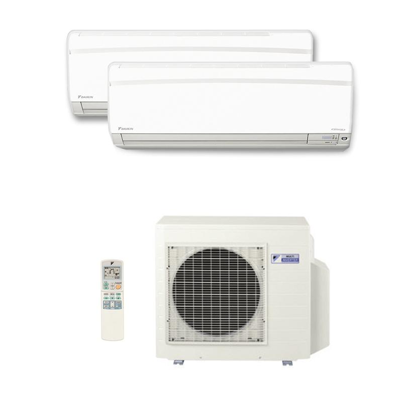 Ar Condicionado Multi Split Inverter Daikin Advance 1X9000(HW) + 1X18000(HW) BTU/s Quente/Ffrio 220V 1F