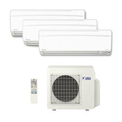 Ar Condicionado Multi Split Inverter Daikin Advance 3X9000(HW) BTU/s Quente/Frio 220V 1F