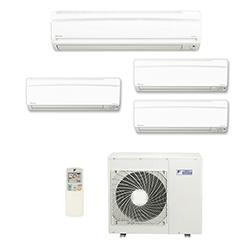 Ar Cond. Multi Inverter Daikin Advance 2X9000(HW) + 1X12000(HW) + 1X18000(HW) Btu/s Quente/Frio 220v 1F