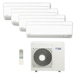 Ar Condicionado Multi Split Inverter Daikin Advance 4X12000(HW) Btu/s Quente/Frio 220v 1F