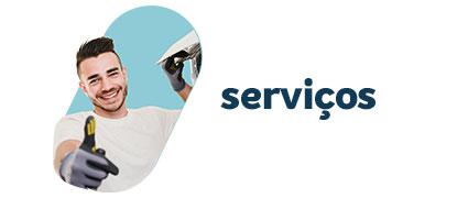 serviço de instalação e limpeza